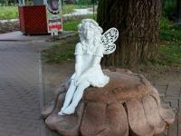 Сочи, скульптура Дюймовочкаулица Егорова, скульптура Дюймовочка