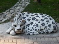 Сочи, скульптура Леопардулица Егорова, скульптура Леопард
