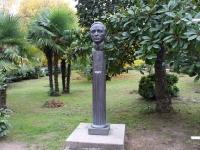 Сочи, памятник М.Ю. Лермонтовуулица Егорова, памятник М.Ю. Лермонтову