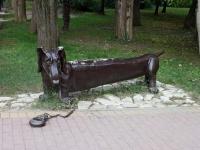 Сочи, скульптура Таксаулица Егорова, скульптура Такса