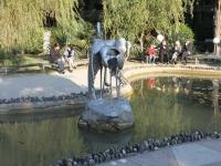 Sochi, sculpture ЖуравлиEgorov st, sculpture Журавли