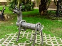 Курортный проспект. скульптурная композиция Собаки