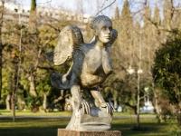 Сочи, скульптура Птица СиринКурортный проспект, скульптура Птица Сирин