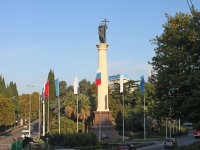 Sochi, monument Архангелу МихаилуKurortny avenue, monument Архангелу Михаилу