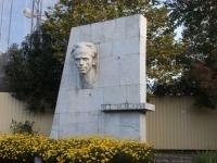 Sochi, monument Н. ОстровскомуKurortny avenue, monument Н. Островскому