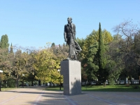 Sochi, monument Н. ОстровскомуKurortny avenue, monument Н. Островскому