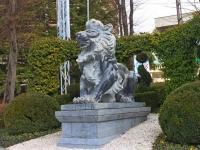 Сочи, скульптура ЛевКурортный проспект, скульптура Лев