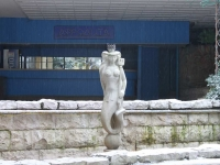 Сочи, скульптура РусалкаКурортный проспект, скульптура Русалка