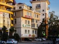 Сочи, улица Несебрская, дом 4. многофункциональное здание