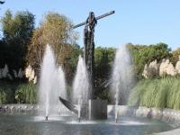 Сочи, улица Несебрская. фонтан Якорь
