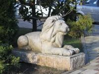 Сочи, улица Несебрская. скульптура Лев
