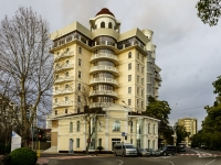 Sochi, st Teatralnaya, house 11. Apartment house