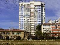 Сочи, улица Чайковского, дом 2Б. многоквартирный дом
