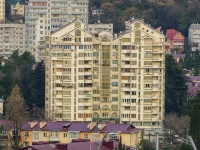 Sochi, Chaykovsky st, house 23/1. Apartment house