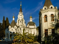 Sochi, cathedral Свято-Михайло-Архангельский, Moskvin st, house 12