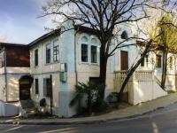 Sochi, sample of architecture Здание городской поликлинники №1, Moskvin st, house 7
