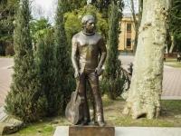 Сочи, улица Орджоникидзе. памятник В.С. Высоцкому