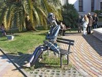 Сочи, скульптура Фотографулица Орджоникидзе, скульптура Фотограф