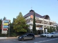 Сочи, улица Учительская, дом 3. гостиница (отель) ВАЛЕНТИН