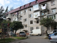 Sochi, Gagarin st, house 54. Apartment house