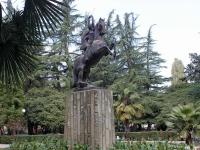 索契市, 雕塑 Ломающая стрелыTsvetnoy Blvd, 雕塑 Ломающая стрелы