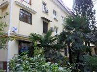 Сочи, улица Красноармейская, дом 14. многоквартирный дом