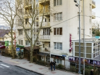 Sochi, Krasnoarmeyskaya st, house 2. Apartment house with a store on the ground-floor