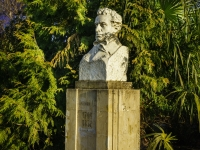 Сочи, Морской переулок. памятник А.С. Пушкину