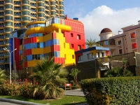 Sochi, hotel Камелия, Pushkin avenue, house 4