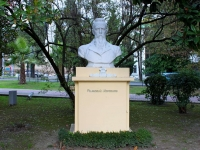 Сочи, памятник Н.А. Римскому-Корсаковуулица Черноморская, памятник Н.А. Римскому-Корсакову