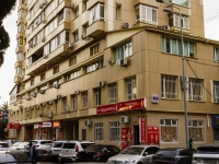 Sochi, Navaginskaya st, house 14. Apartment house with a store on the ground-floor