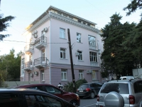 Sochi, Ostrovsky st, house 55/1. Apartment house