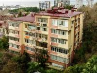 Сочи, улица Кубанская, дом 12. многоквартирный дом