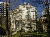 Сочи, улица Первомайская, дом 2А. жилой дом с магазином