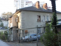 Sochi, Bezymyanny alley, house 5. Apartment house