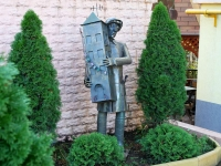 Sochi, st Volgogradskaya. sculpture