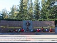 Sochi, st Sevastopolskaya. memorial complex