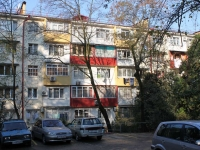 Sochi, Nevskaya st, house 6. Apartment house