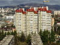 Sochi, Nevskaya st, house 19. Apartment house
