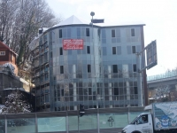 Sochi, Plastunskaya st, house 194/1. building under construction