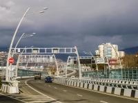 Сочи, улица Титова. эстакада Дублер Курортного проспекта