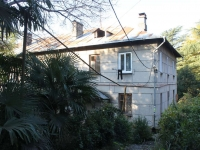 Сочи, улица Чебрикова, дом 16. многоквартирный дом