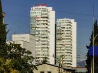 Сочи, улица Юных Ленинцев, дом 10. многоквартирный дом Пионер