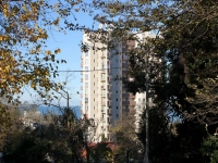 Сочи, улица Виноградная, дом 43В. многоквартирный дом