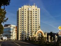 Сочи, улица Виноградная, дом 20А. офисное здание Олимпийский, бизнес-центр