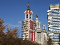 улица Волжская. храм св. Пантелеймона