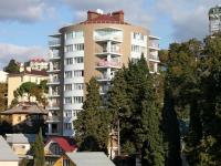 Сочи, улица Грибоедова, дом 1. многоквартирный дом