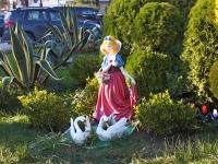Сочи, улица Плеханова. скульптура Сказочная героиня
