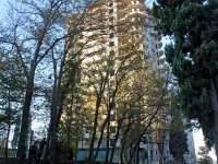 Sochi, st Pirogov, house 5 к.1. building under construction