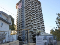 Sochi, Pirogov st, house 30А/1. building under construction